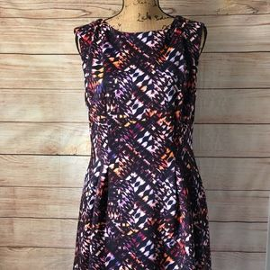 VINCE CAMUTO Geometric Scuba Dress 14